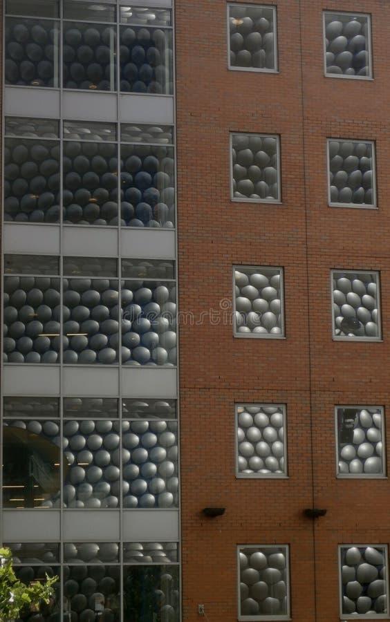 Selfridges-Reflexion lizenzfreie stockfotos