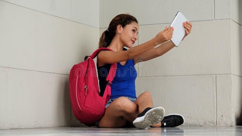 Selfy Latina kobieta obrazy stock