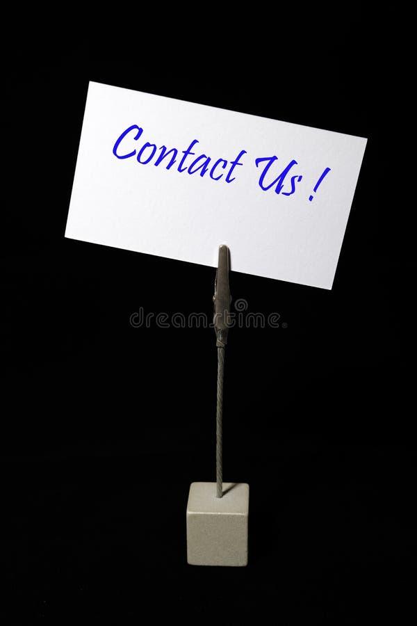 Seli metta in contatto con fotografia stock libera da diritti