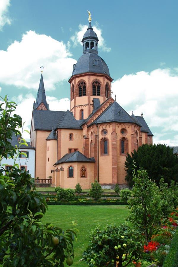 seligenstadt базилики стоковые фото