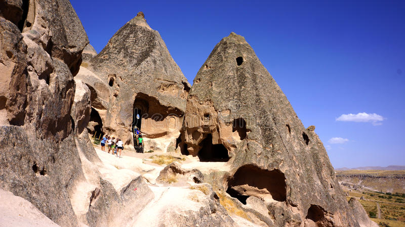 Selime kloster royaltyfria foton