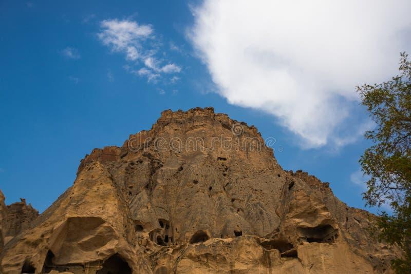 Selime-Kloster in Cappadocia, die Türkei Selime ist Stadt am Ende von Ihlara-Tal Grüner Ausflug lizenzfreie stockfotografie