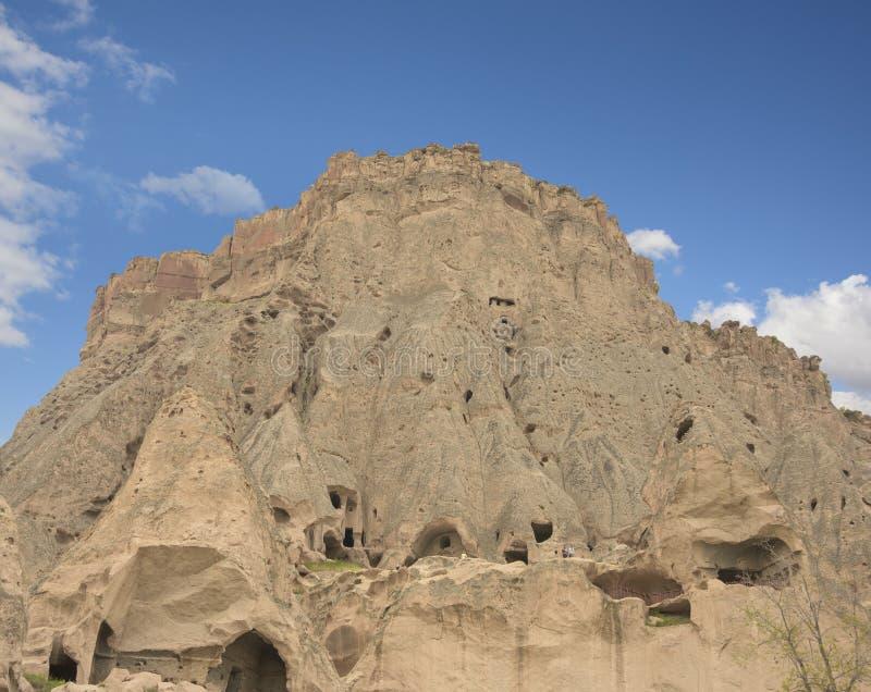 Selimekathedraal, Aksaray-provincie, Turkije royalty-vrije stock afbeeldingen