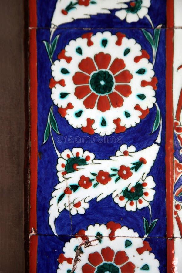Selimiye清真寺,爱迪尔内内部  免版税图库摄影