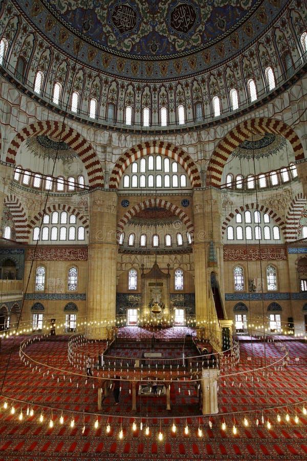 Selimiye Camii i Edirne royaltyfria foton