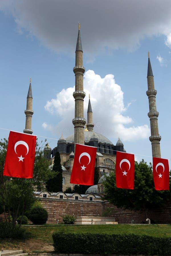 Selimiye Camii i Edirne royaltyfria bilder