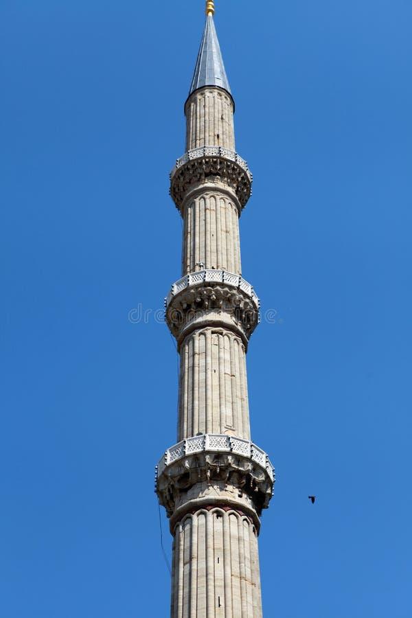 selimiye för edirne minaretmoské arkivbilder