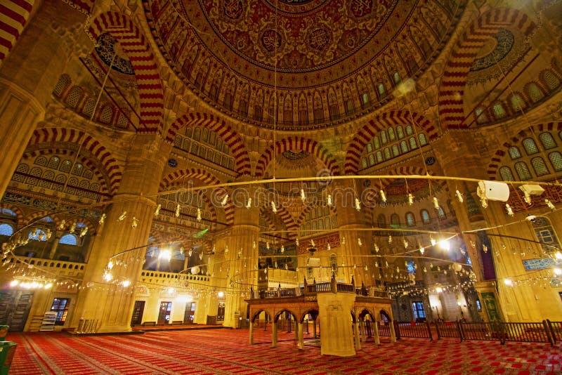 Selimiye-Moschee in Edirne lizenzfreie stockfotos