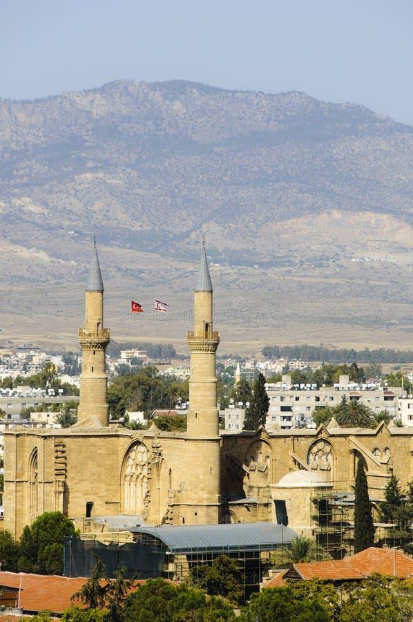Selimiye Mosque stock photography