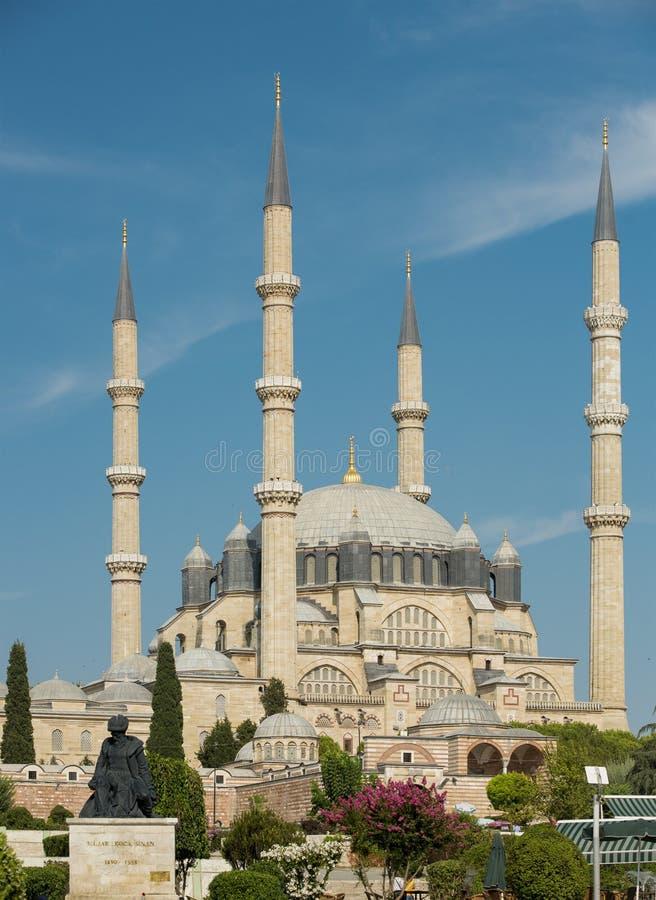 Selimiyemoskee in Edirne royalty-vrije stock afbeelding