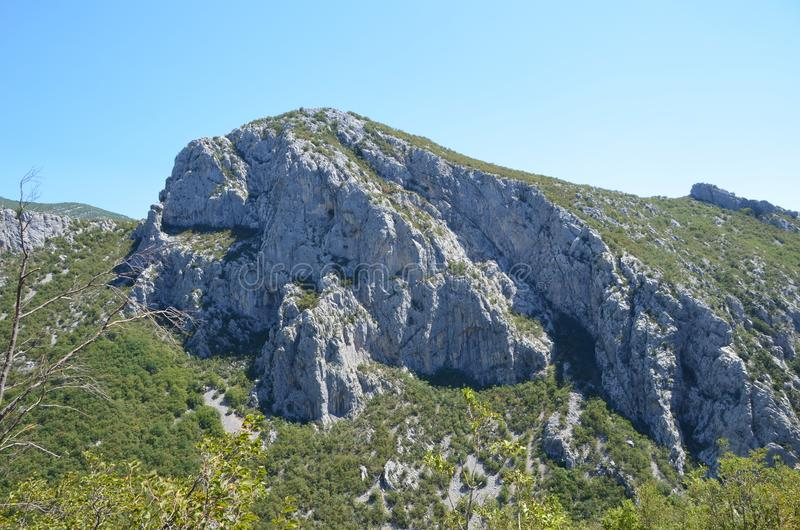 Selina, Croatia, Mountain, Paklenica stock image