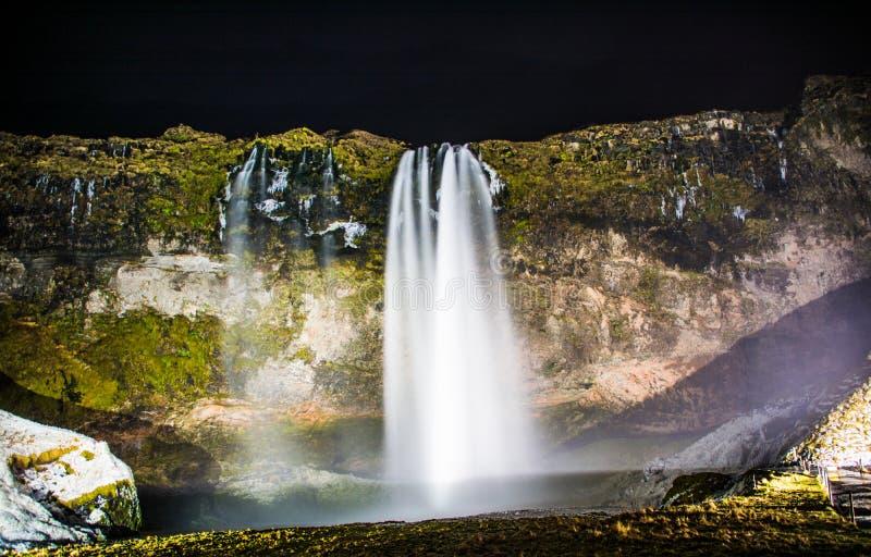 Seljalandfoss photo libre de droits