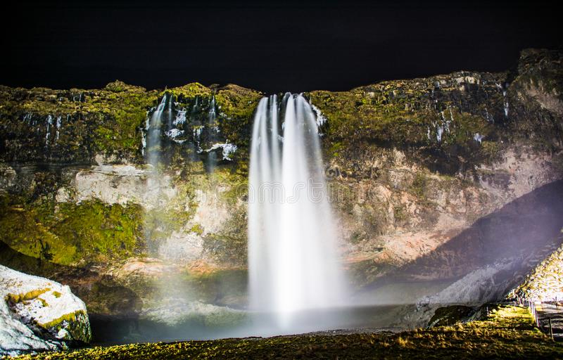 Seljalandfoss royalty free stock photo