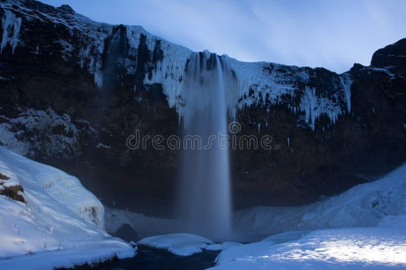 seljalandsfoss Исландии стоковая фотография rf