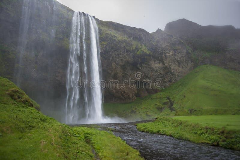 Seljalandsfoss fotografia de stock royalty free