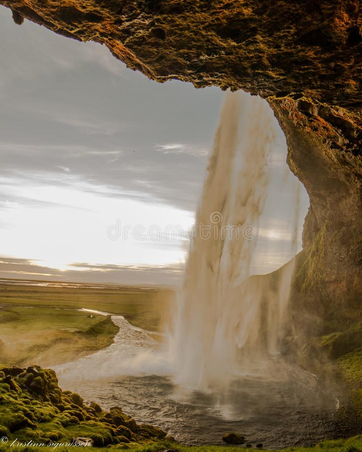 Seljalandsfoss foto de stock royalty free