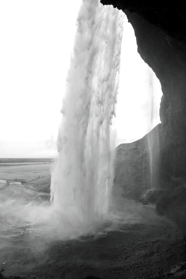 Seljalandsfoss Islande image libre de droits