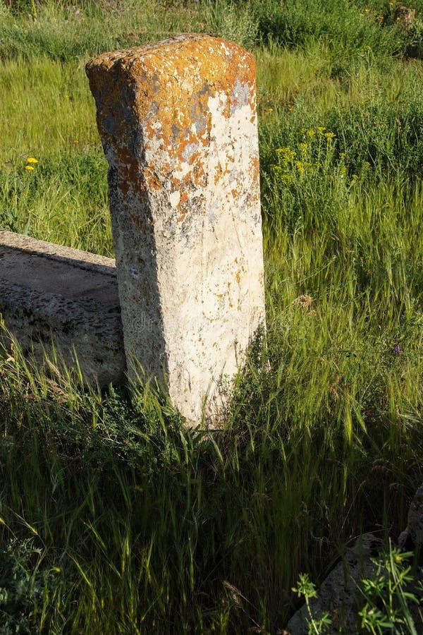 Seljuk kyrkogård och gravvalv arkivfoton