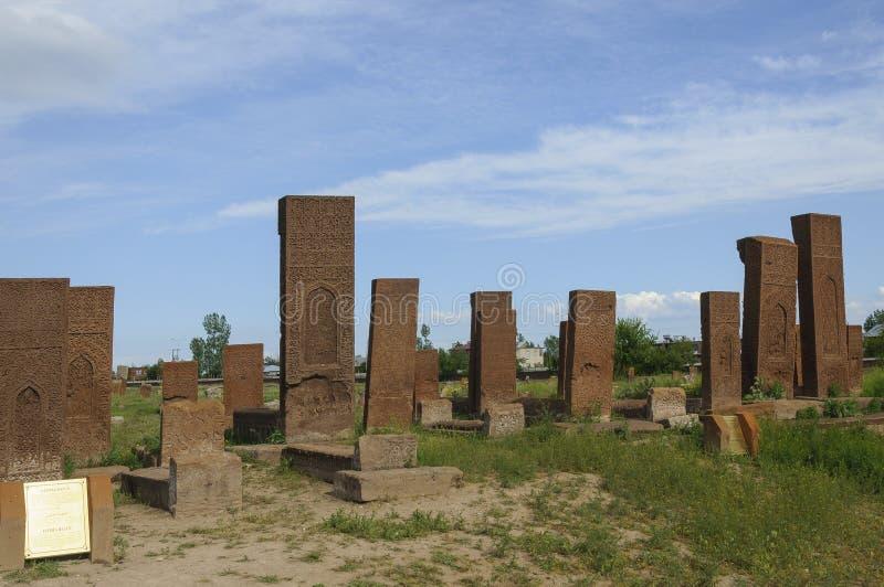 Seljuks kyrkogård royaltyfri fotografi