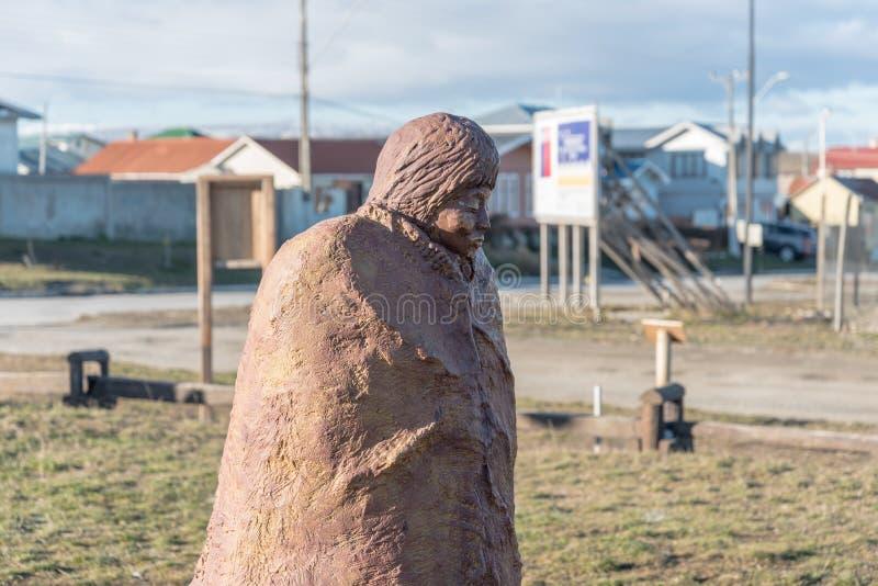 Selk& x27 ; nam dans Porvenir, Tierra del Fuego Chile photos libres de droits