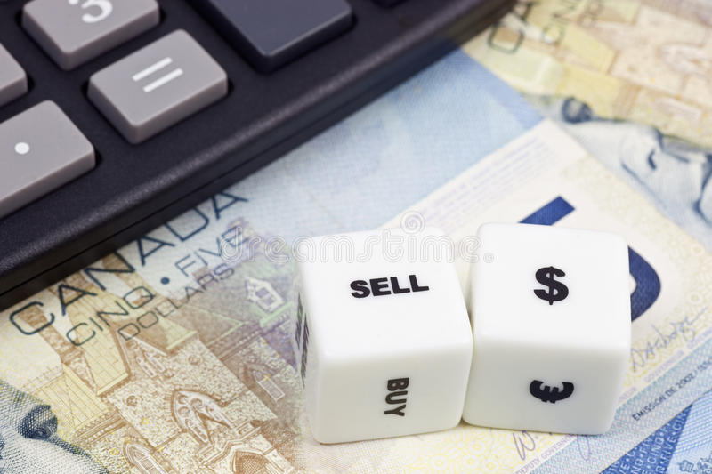 Download Sell Canadian dollar stock image. Image of sell, currencies - 18470499