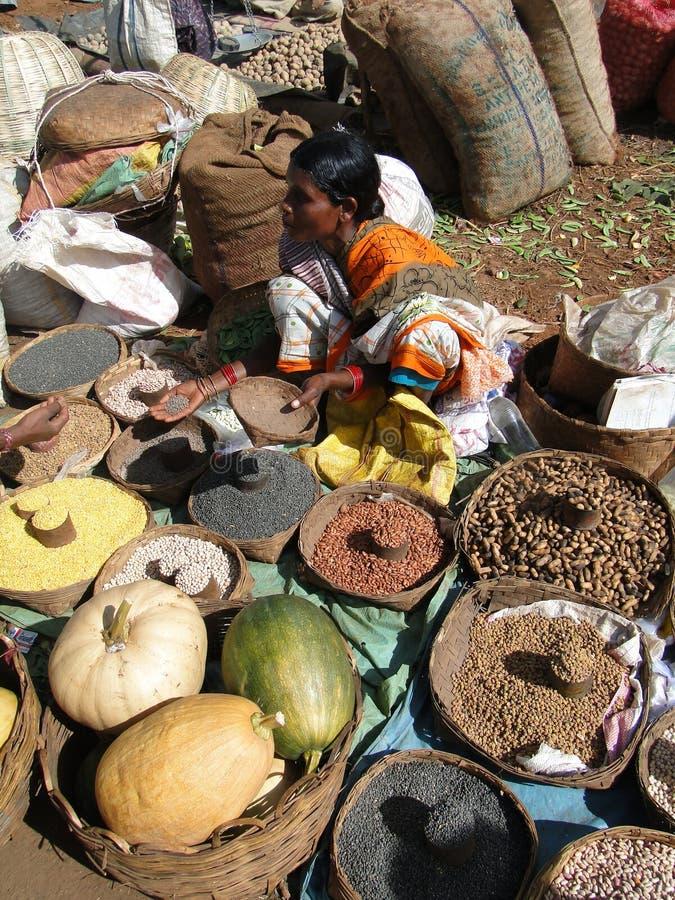 Sell indiano dal dos aldeões imagens de stock
