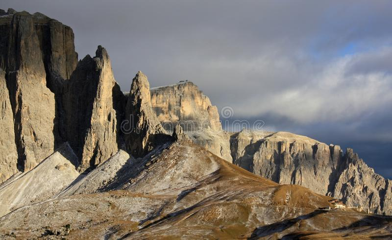 Sella royalty free stock photography