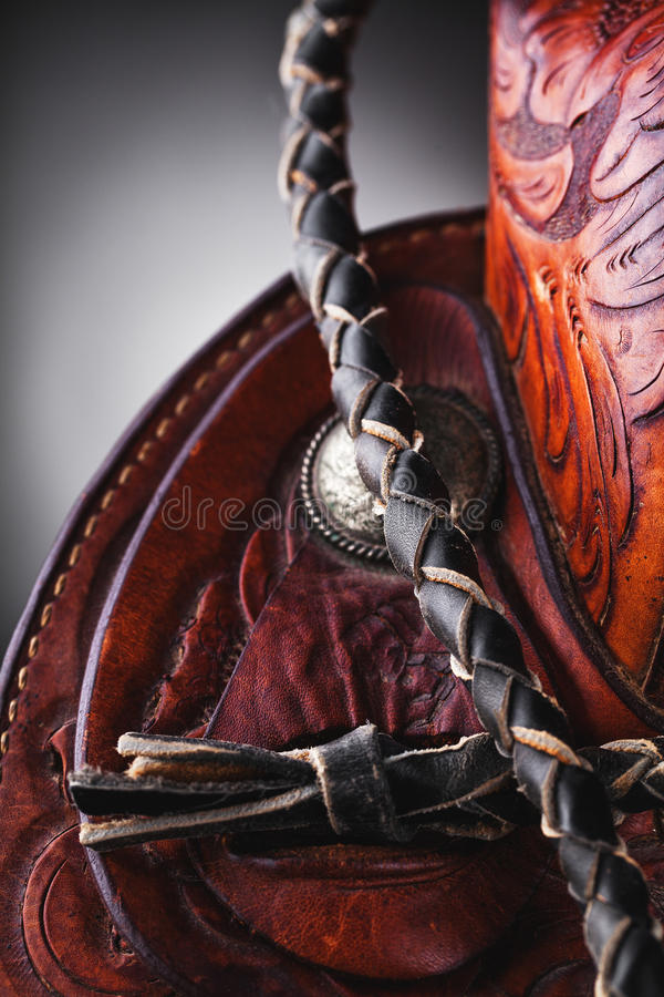 Sella del cavallo fotografia stock libera da diritti