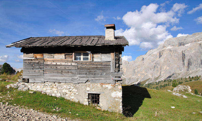 Sella Pass,Val Gardena,South Tyrol royalty free stock photography