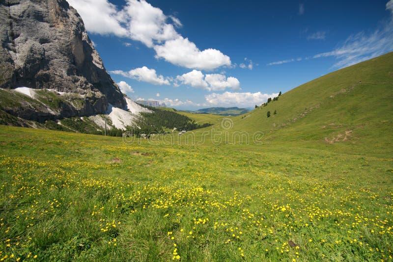 Sella - Val Gardena Royalty Free Stock Photos