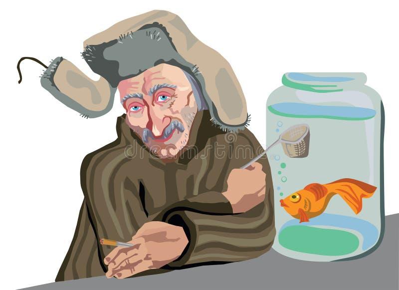Download Seller goldfish stock photo. Image of character, european - 34667808