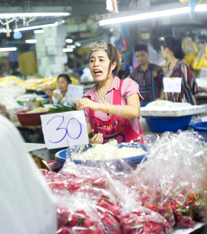 Download Seller at local market editorial photo. Image of chinatown - 20843101