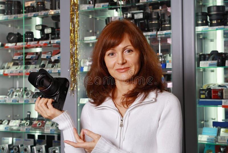 The Seller Of Photo Technique Stock Photos