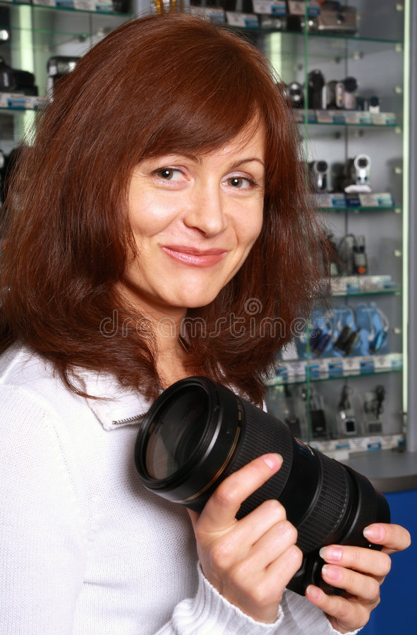 The seller of photo technique