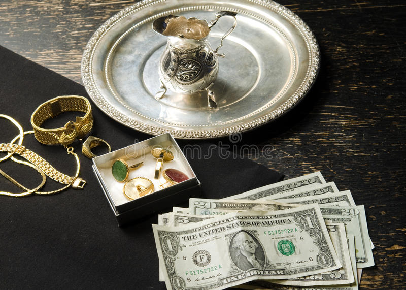 Download Selling gold for cash stock image. Image of pawning, economy - 23152145