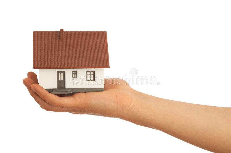 Selling House Stock Image