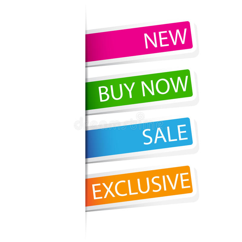 Download Selling Sticker stock vector. Image of background, sale - 24177052