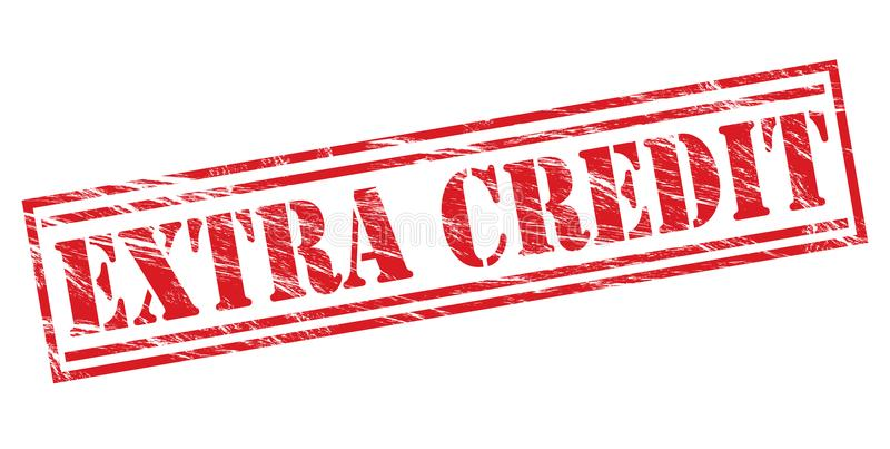 Sello adicional del crédito stock de ilustración