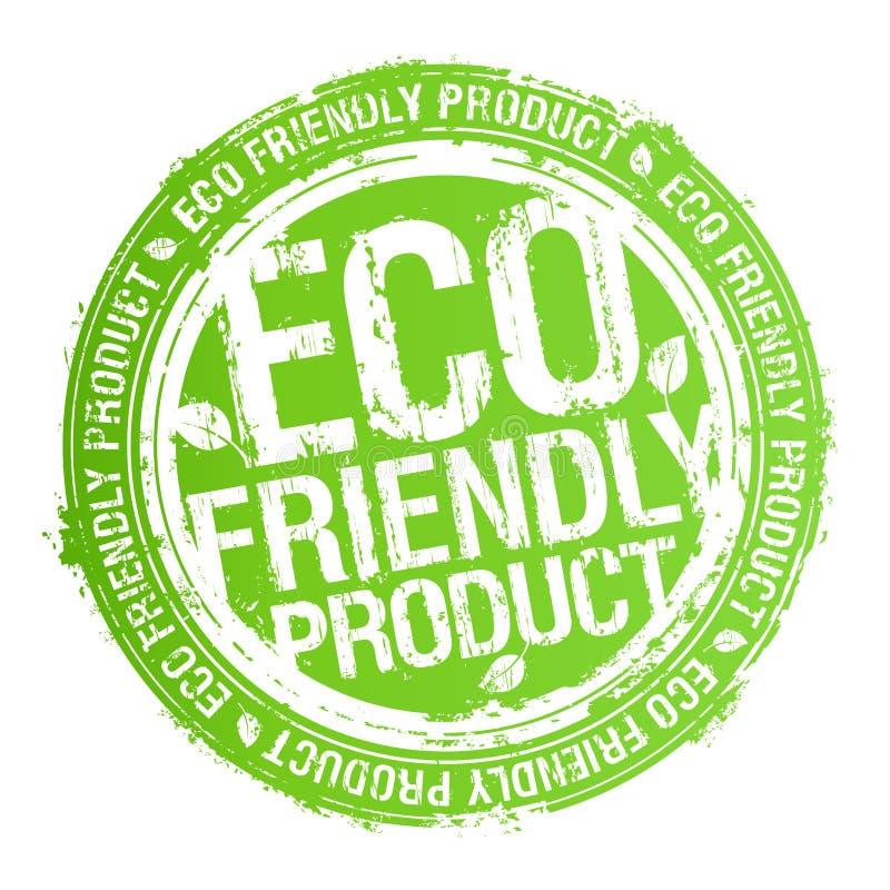 Sello cómodo del producto de Eco. libre illustration
