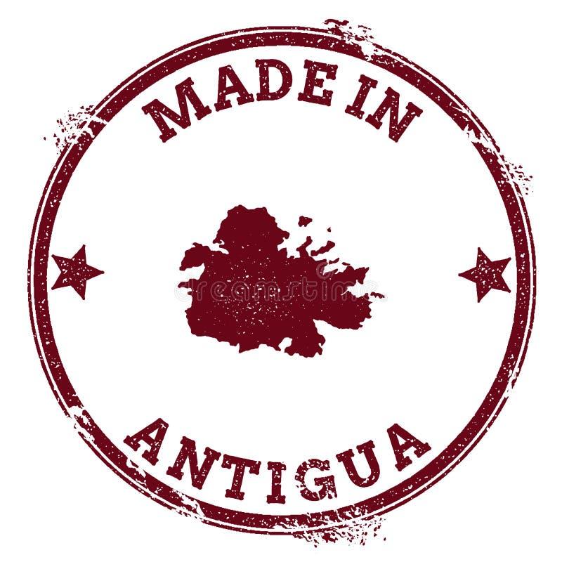 Sello de Antigua stock de ilustración
