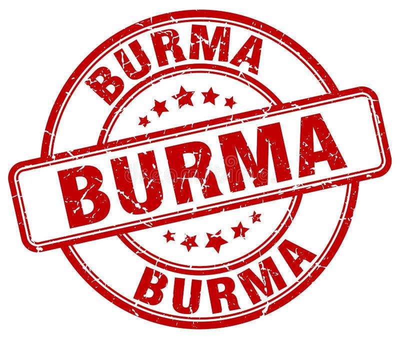 Sello de Birmania libre illustration