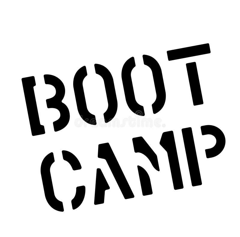 Sello de BOOT CAMP en blanco stock de ilustración