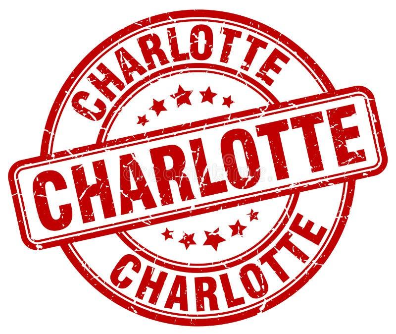 Sello de Charlotte libre illustration