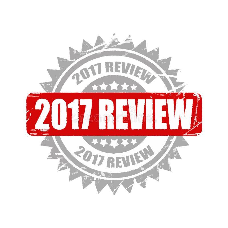sello de 2017 comentarios fondo informativo del ejemplo, de la publicidad y del márketing libre illustration