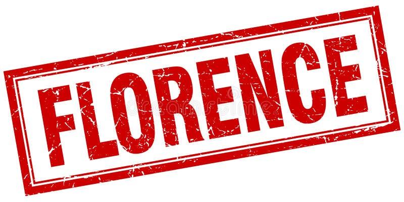 Sello de Florencia stock de ilustración
