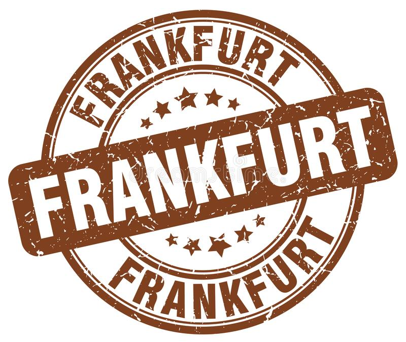 Sello de Francfort libre illustration