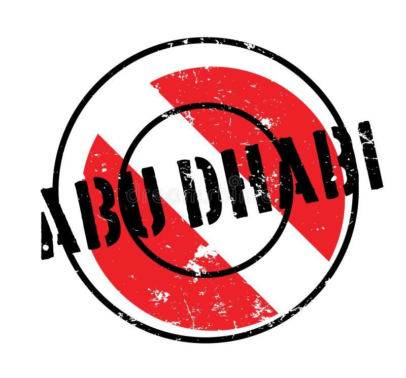 Sello de goma de Abu Dhabi libre illustration