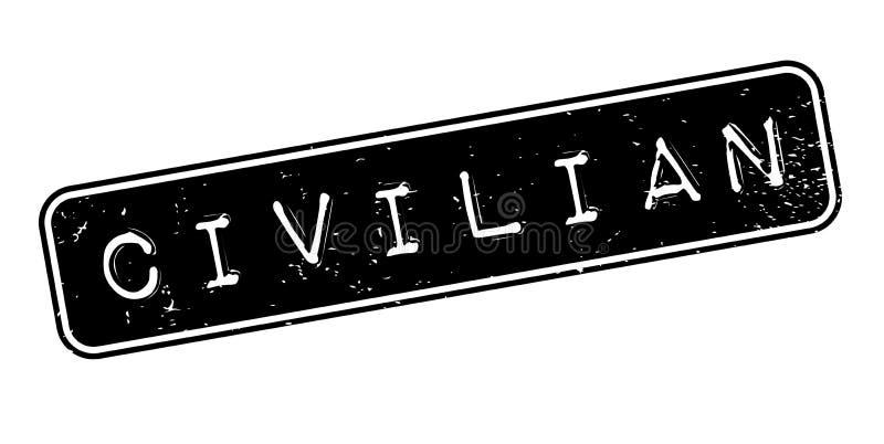 Sello de goma civil libre illustration