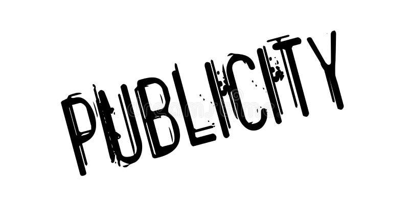 Sello de goma de la publicidad libre illustration