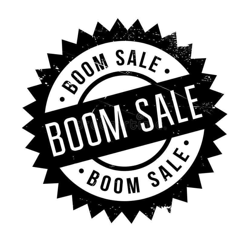 Sello de goma de la venta del auge ilustración del vector